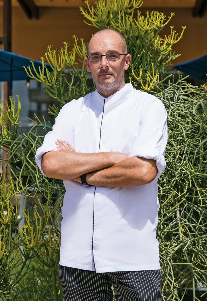 Gerben de Lange   Executive Chef / Co-owner Twist of Flavors Restaurant