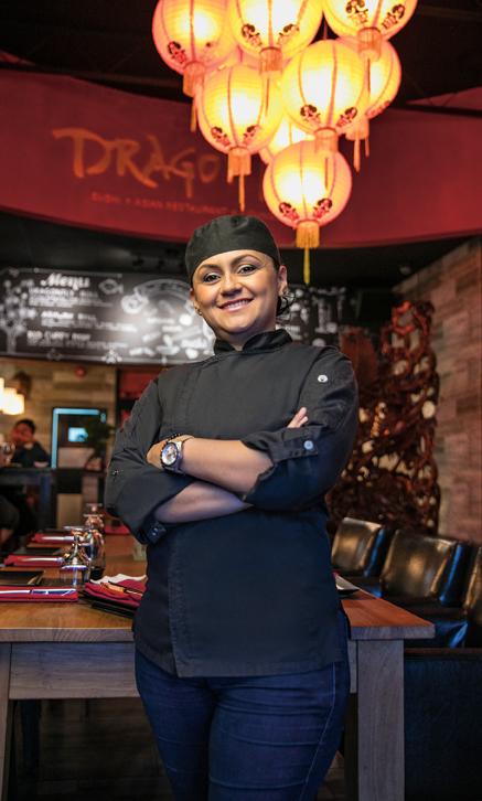 Anyi Yulieth   Chef – Dragonfly Sushi –  Asian Restaurant – Lounge