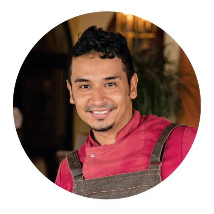 Juan Ludeña   Chef