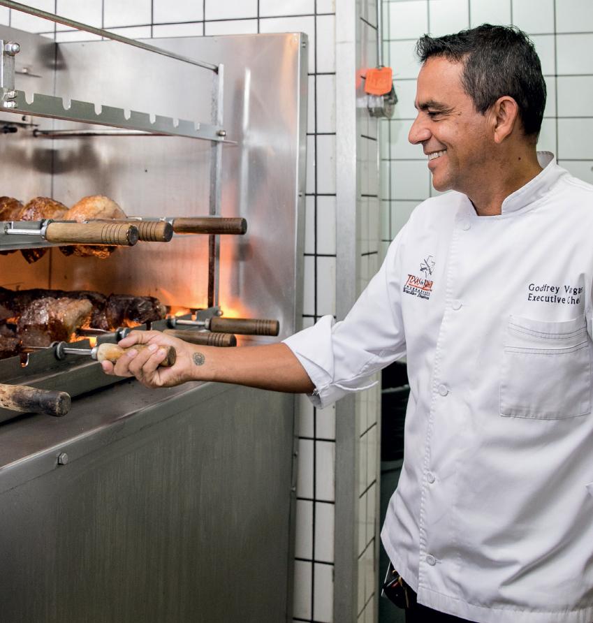 Godfrey Vargas   Executive Chef – Texas de Brazil Churrascaria Steakhouse