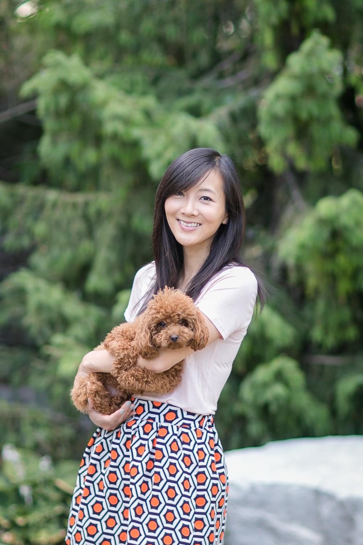 Anita and her pup Mojo