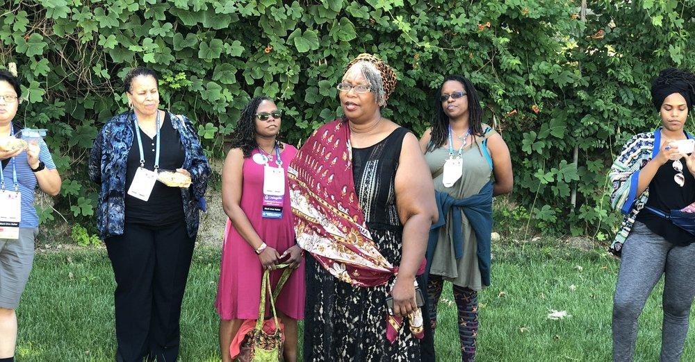 BLUU hosts a POCI Community Project at Uzazi Village in Kansas City, MO - June 2018
