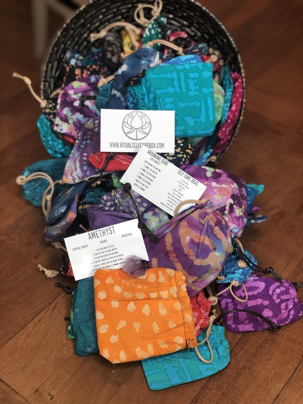 Ritual Self-Care Box - Crystal