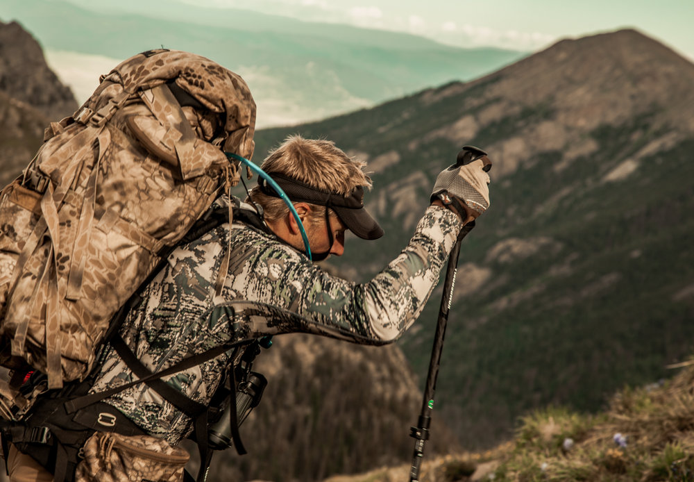 elk hunter backpack hunting