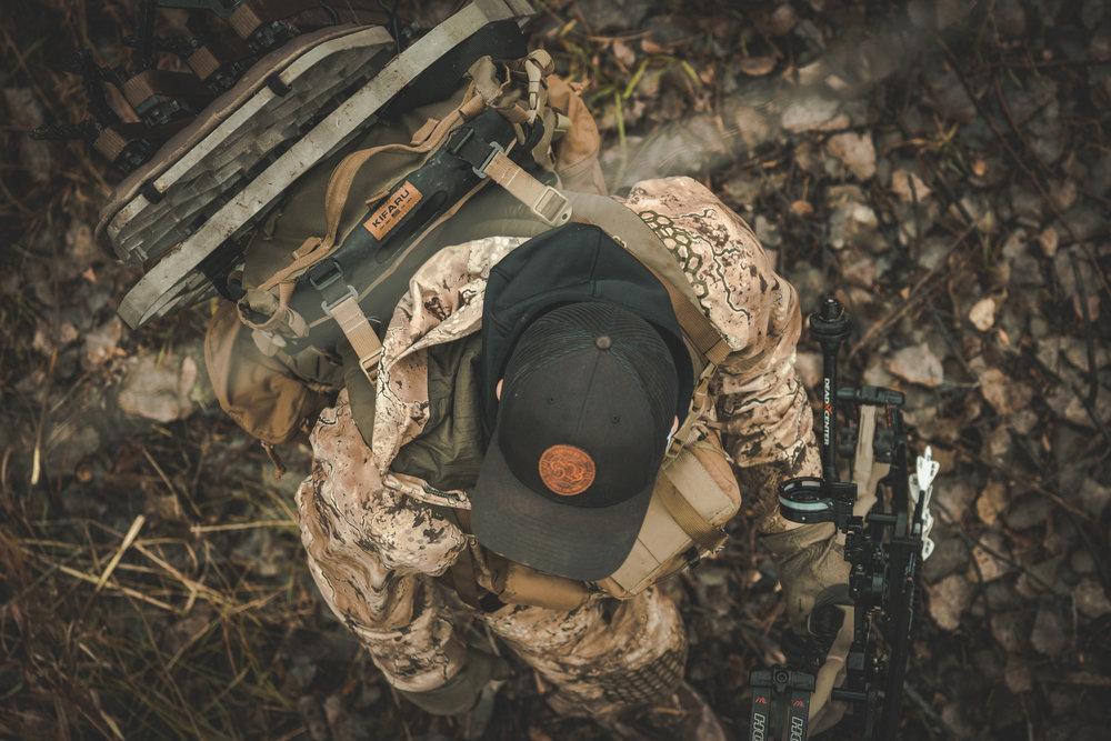 bow hunter treestand