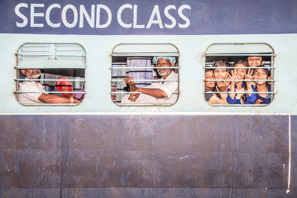 Second Class: Hari Pur station, India  2017  60x40cm edition of 5 $300usd  100x66cm edition of 10 $500usd