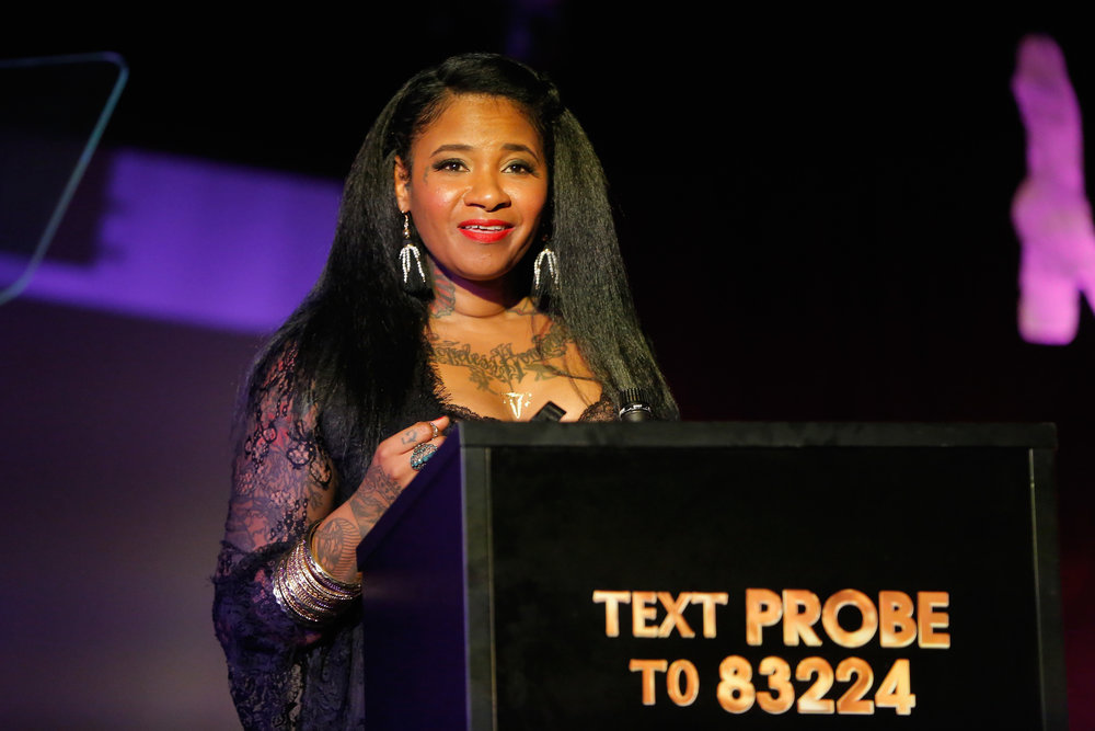 Jean Grae (Photo by Astrid Stawiarz/Getty Images for Lady Parts Justice)