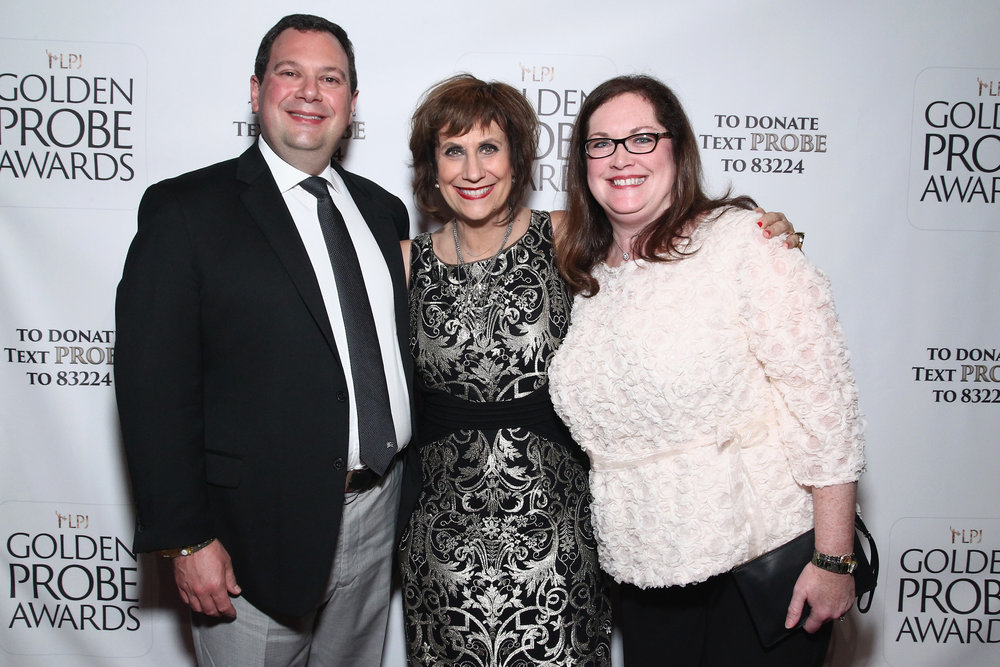 Amy and Ted Gavin with Lizz Winstead (Photo by Astrid Stawiarz/Getty Images for Lady Parts Justice)