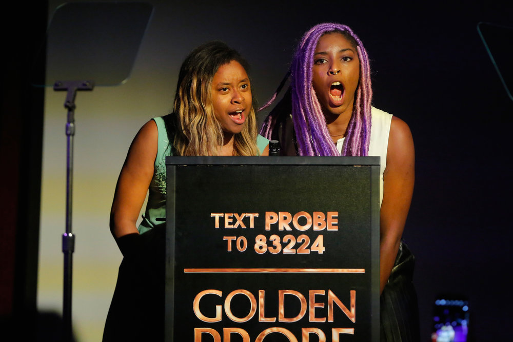 2 Dope Queens, Phoebe Robinson and Jessica Williams (Photo by Astrid Stawiarz/Getty Images for Lady Parts Justice)