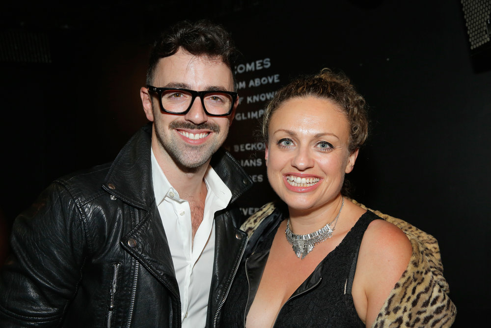 Matteo Lane and Leah Bonnema (Photo by Astrid Stawiarz/Getty Images for Lady Parts Justice)