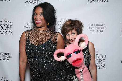 Joyelle Nicole Johnson, Lizz Winstead, and Eunice P. Justice (Photo by Astrid Stawiarz/Getty Images for Lady Parts Justice)