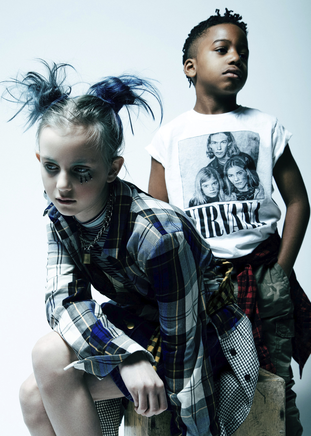 Punk Rock Kids - Children's Fashion Editorial by Mark Binks