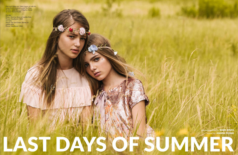 Last Days Of Summer - Kids Fashion Editorial by Mark Binks