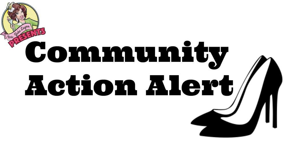 Community Action Alert