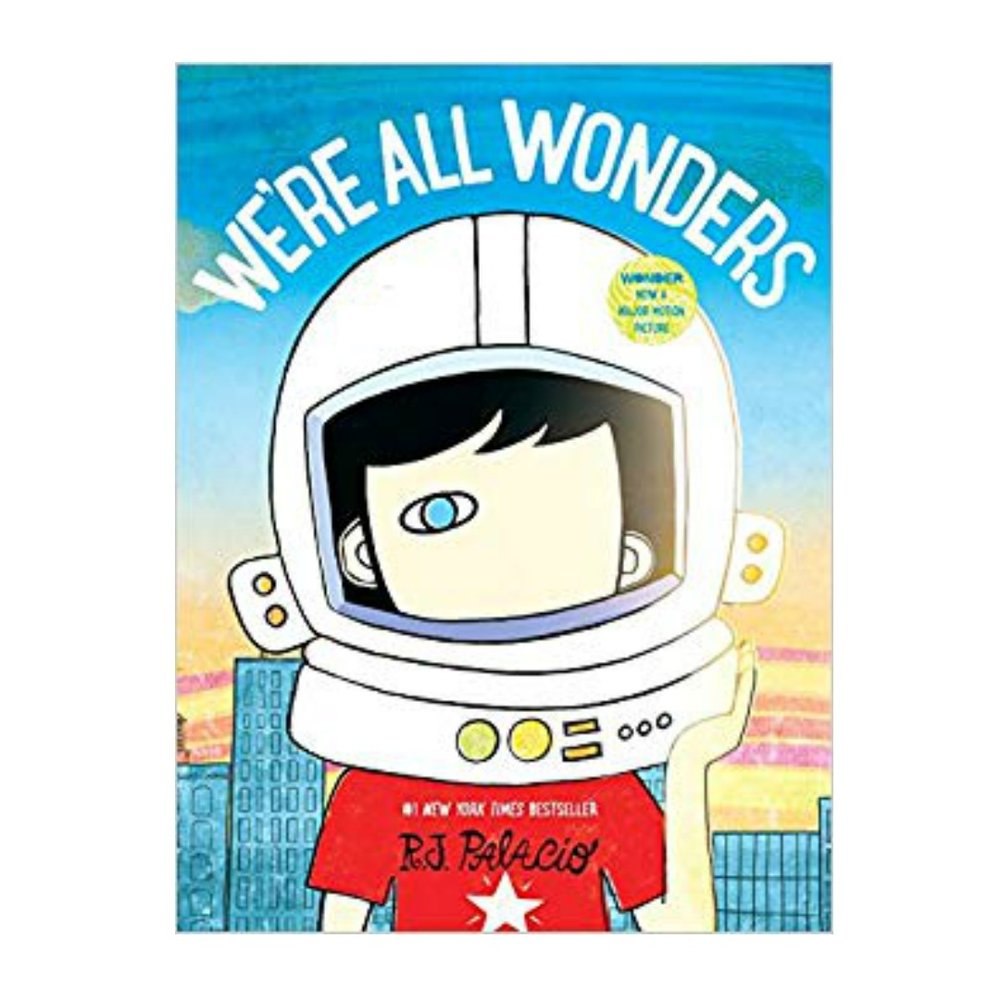 WE'RE ALL WONDERS   We truly are all wonders!   What a simple and delightful story about the power of being you...and being nice! Based on the hit book & movie this is a very easy read!