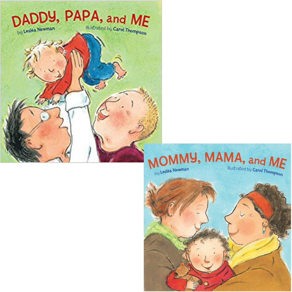DADDY/MOMMY ETC.   A delightful book that show just how normal lives are for same sex households.