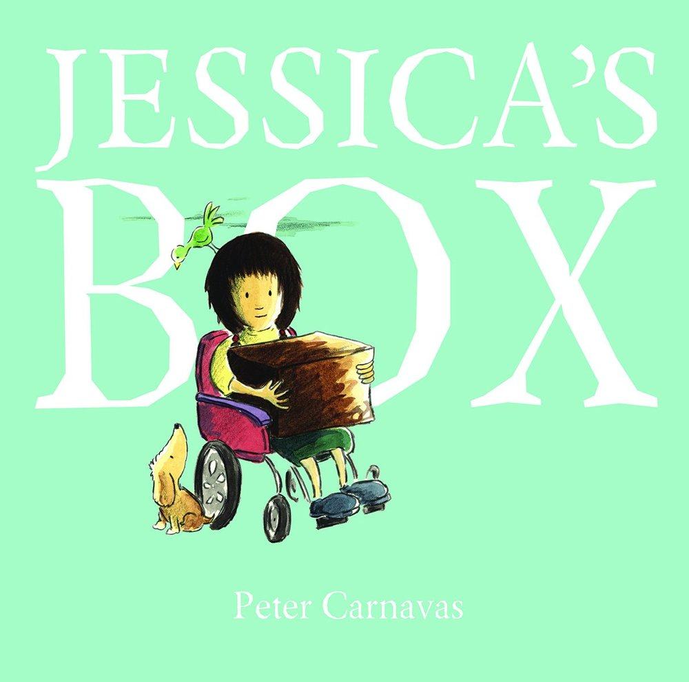 Jessica's Box*   We love this book because the protagonist Jessica is on a journey to find herself