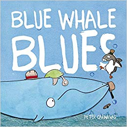 Blue Whale Blues*   Blue Whale is so sad that things aren't going as inspected.