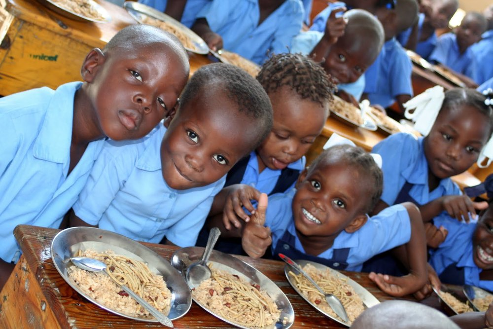Your sponsorship helps us feed 500 kids daily!