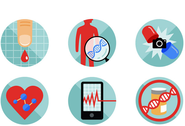 Health Testing icons   AARP THE MAGAZINE