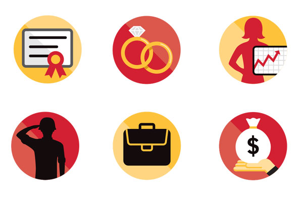 Survey icons   AARP THE MAGAZINE