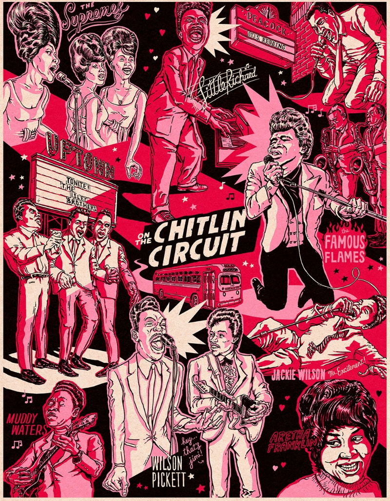 On The Chitlin Circuit POSTER