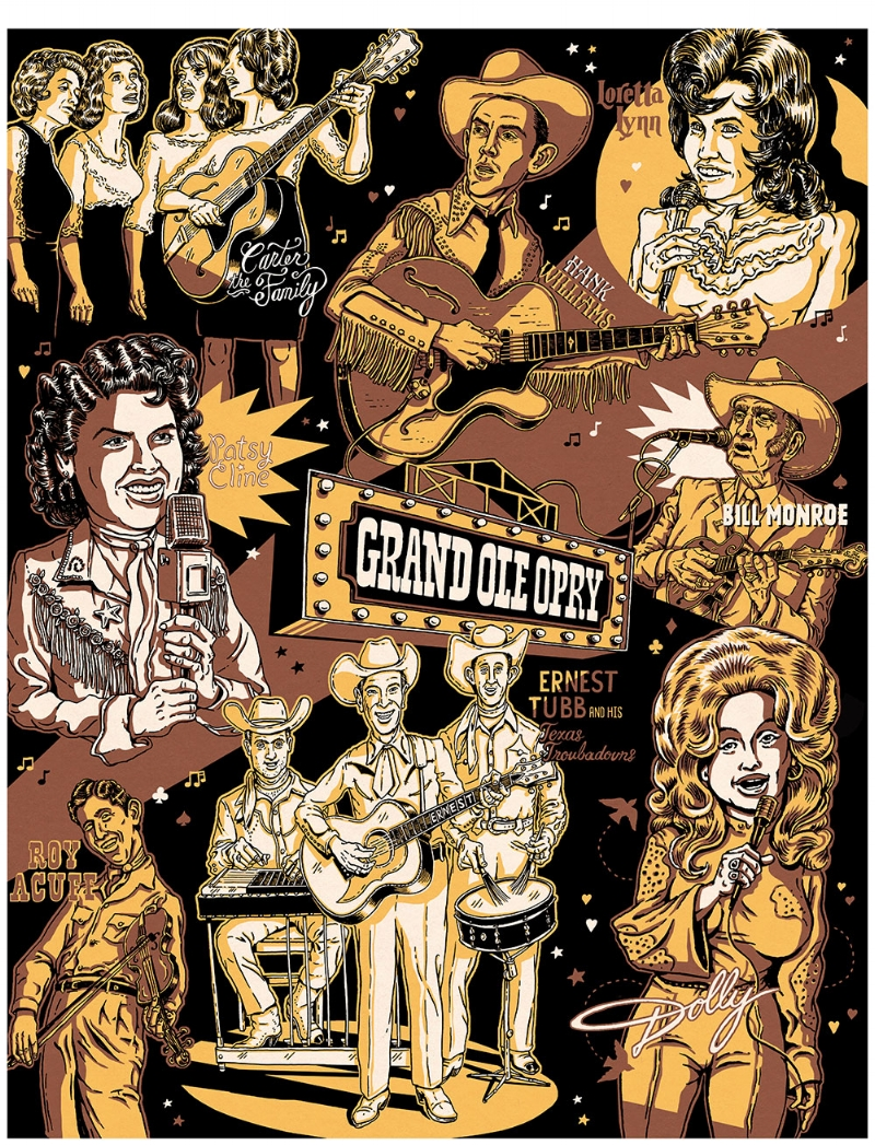 The Grand Ole' Opry  POSTER