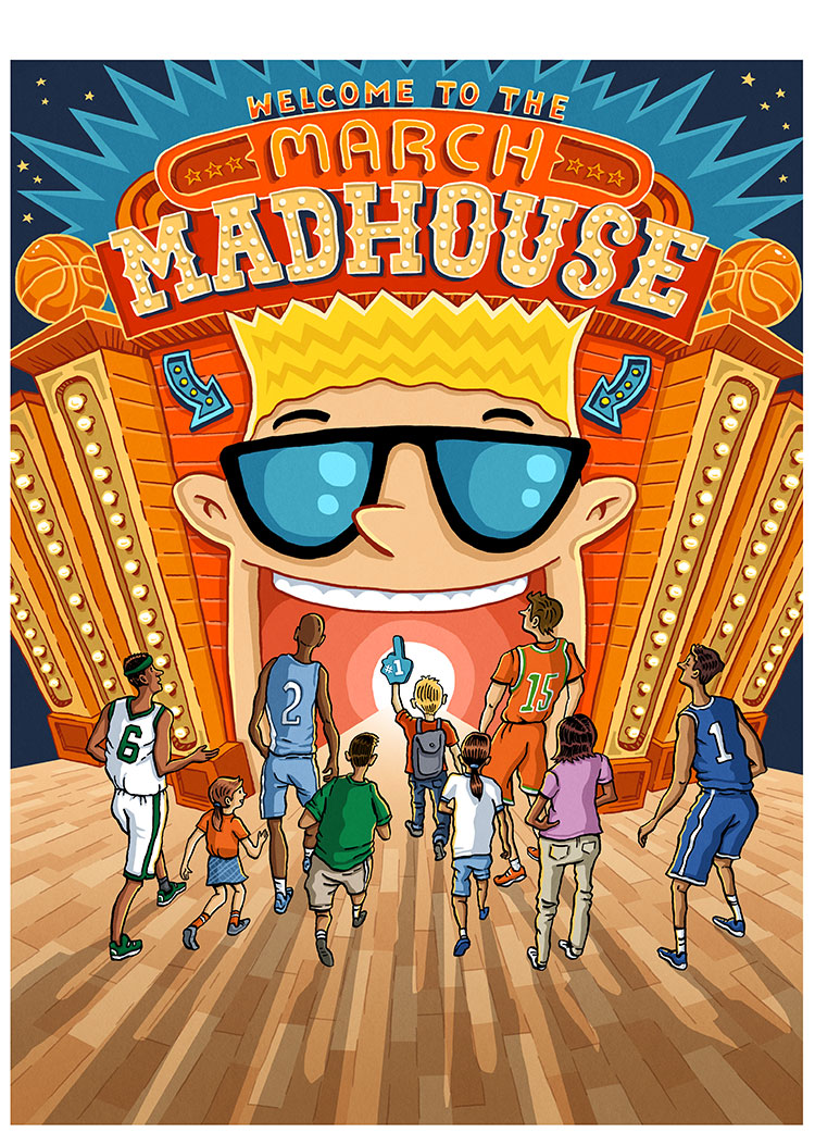 March Madness Funhouse SPORTS ILLUSTRATED FOR KIDS