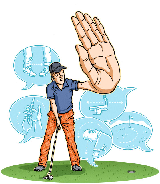 Bad Advice   GOLF DIGEST