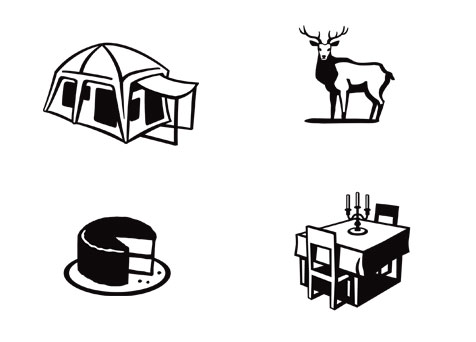 Camping icons   AMEX