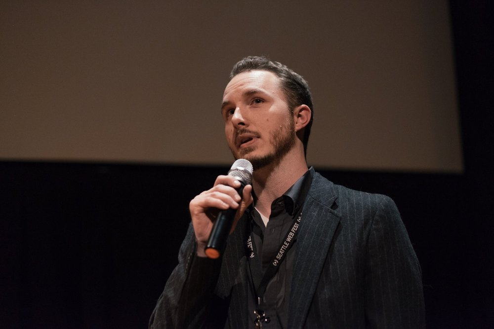 Technical Director, Matt Longmire speaking at Seattle Web Fest 2016.