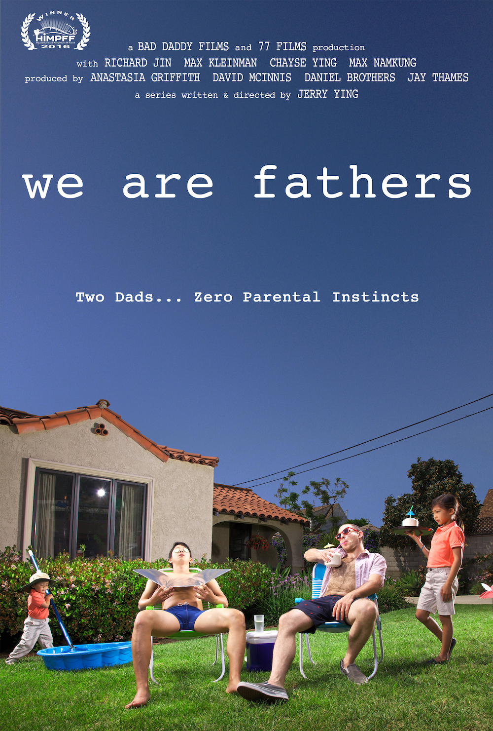 """We Are Fathers is an honest and humorous take on the challenges of being a dad and features a unique perspective on modern fatherhood,"" writes Reera Yoo of KoreAm Magazine. Two dads...Zero Paternal Instincts."
