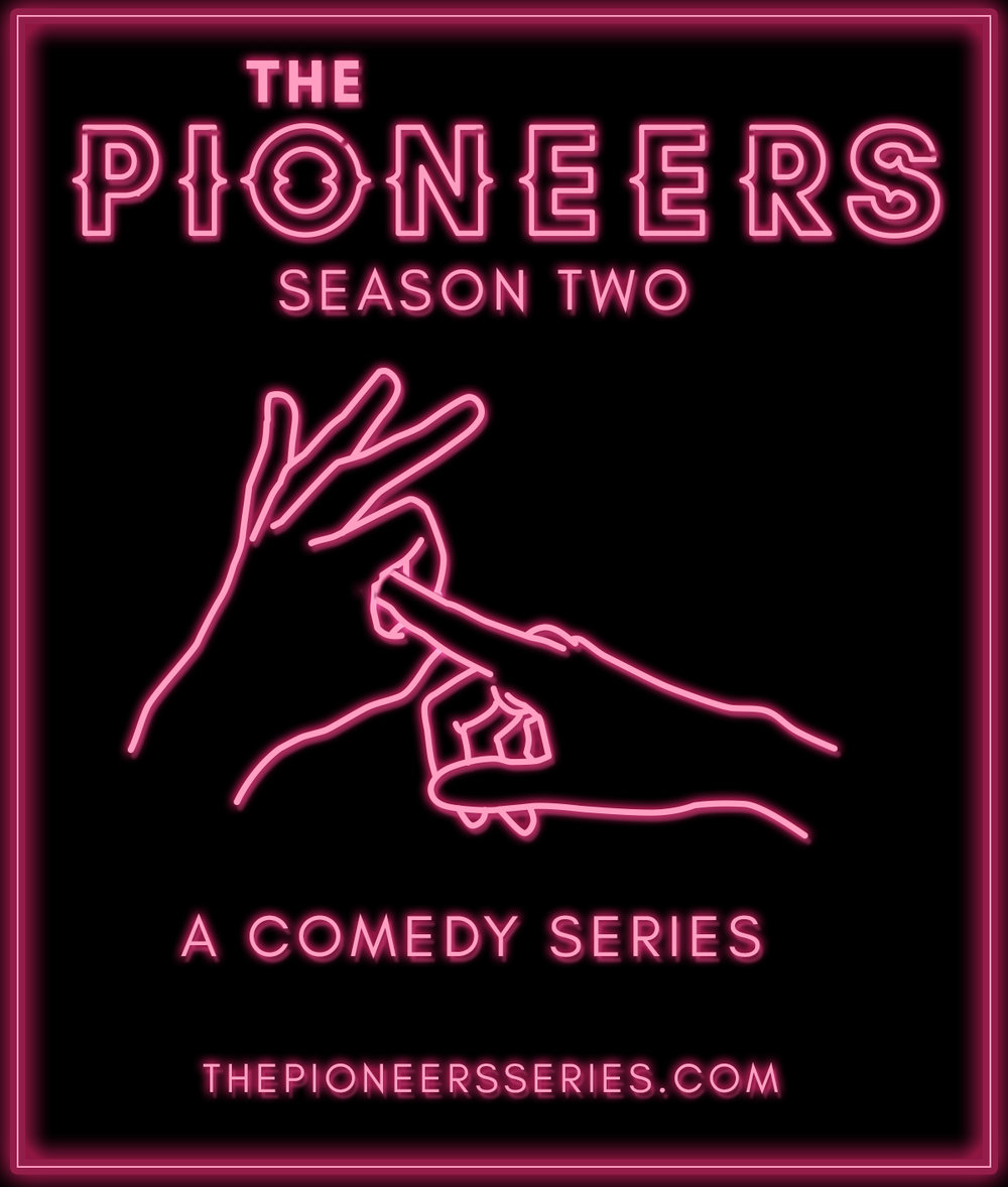 """The Pioneers"" is a comedy about a couple who decide to open up their relationship before they tie the knot, but as they plan the wedding and try to get lucky, they find themselves in increasingly bizarre situations with no casual sex in sight."