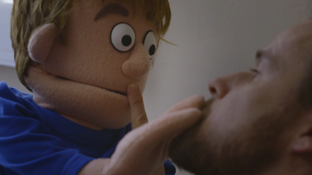 When Danny was a child, his parents' divorce messed him up. His therapist used a puppet to help him work through it. Thirty years later, life has knocked Danny down again and only his old friend can pick him up.