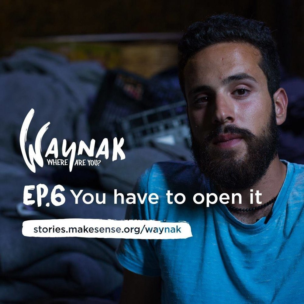 6 stories of collaboration between refugees, volunteers, and host communities, from bands mixing Arabic and US country music in Istanbul, to crazy Czech volunteers living with refugees in a warehouse in Athens, to drama therapy in Berlin and Beirut. Presented with English Subtitles