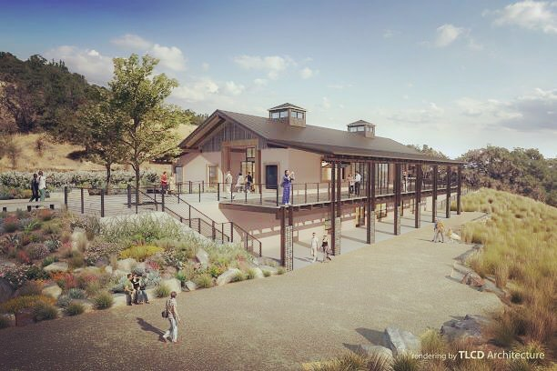 Ground has broken at Paradise Ridge Winery Event Center! Rendering courtesy of our design teammates, @tlcd_architecture