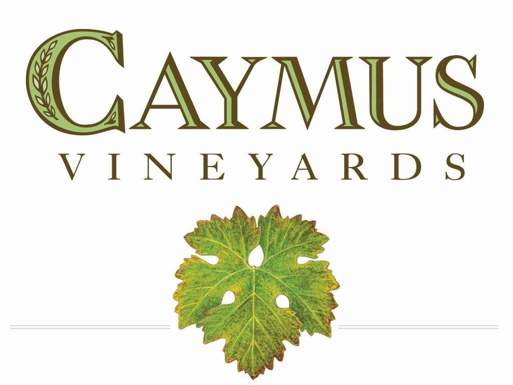 Caymus Vineyards logo with leaf.jpg