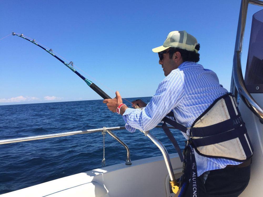 Fishing sport Salento Sud-Est Apulia Puglia