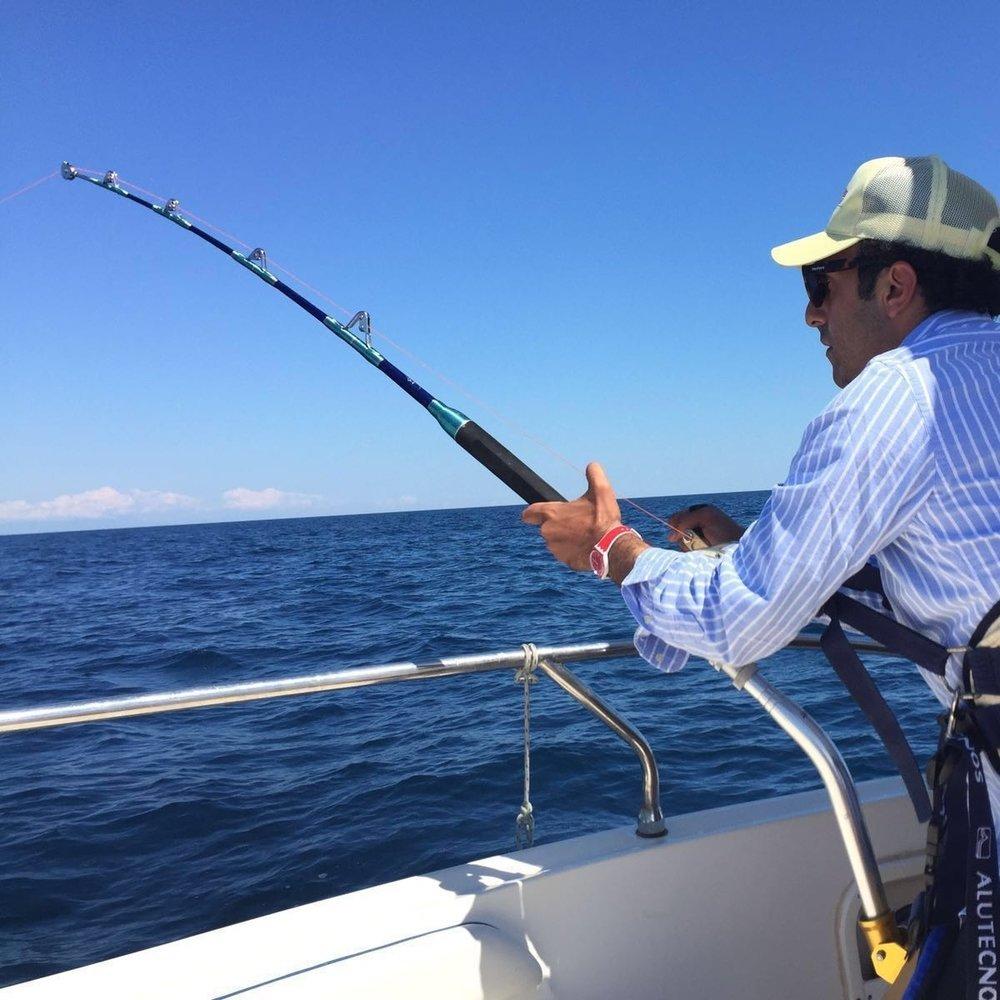 Fishing Salento Sud-Est Apulia Puglia
