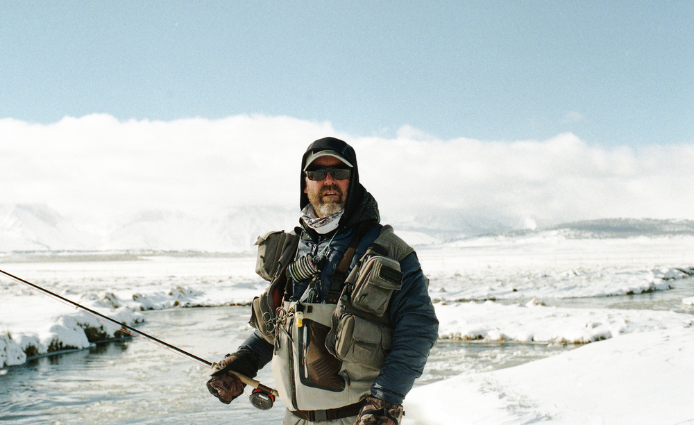 "Harry Blackburn from the ""Fly Fishing"" project"