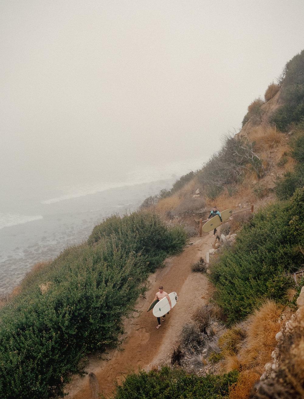 LA Surf Trip for Lagom Magazine
