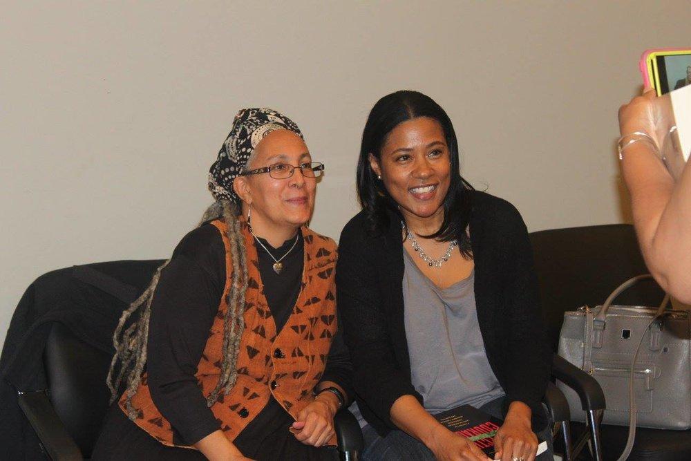 Dr. Jessica Gordon Nembhard meets Dr. Mindy Fullilove's (Urban Alchemy) Neice