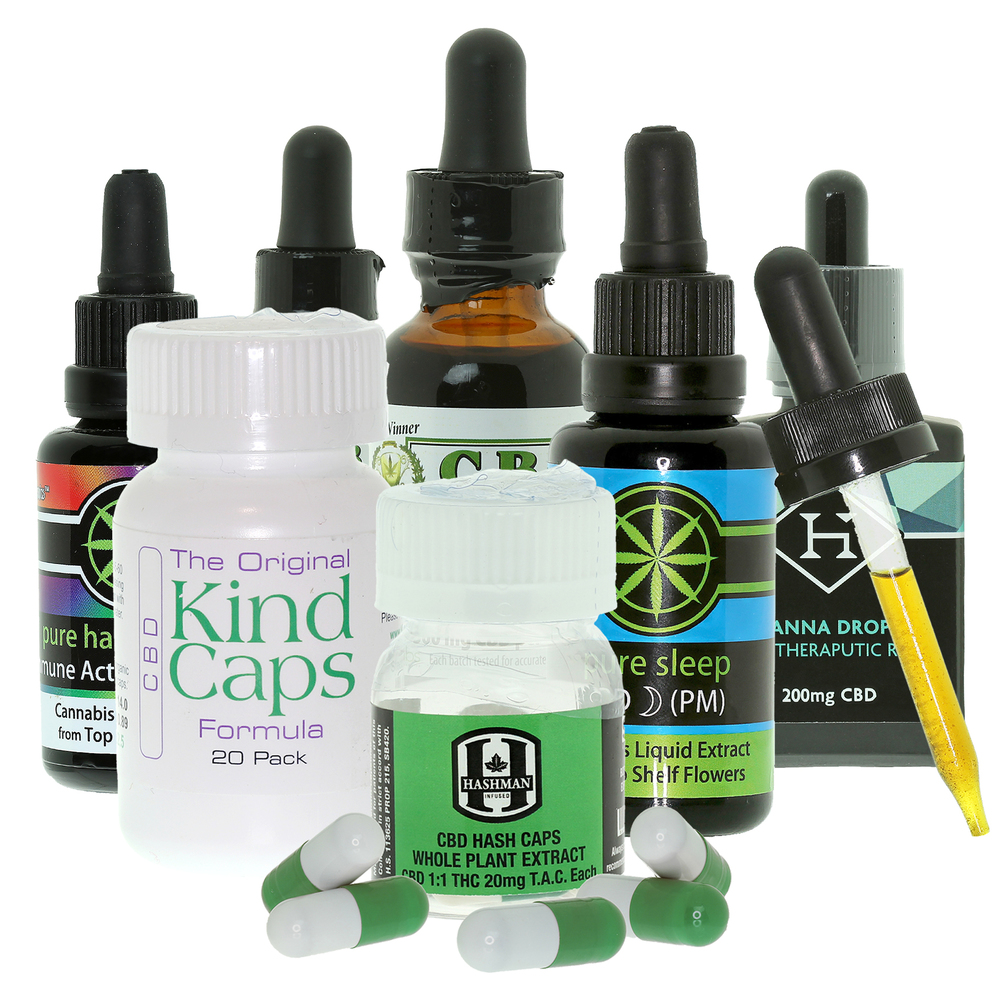 CBD Caps and Tinctures