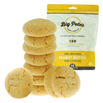 CBD cookies from a local father-and-son company. -