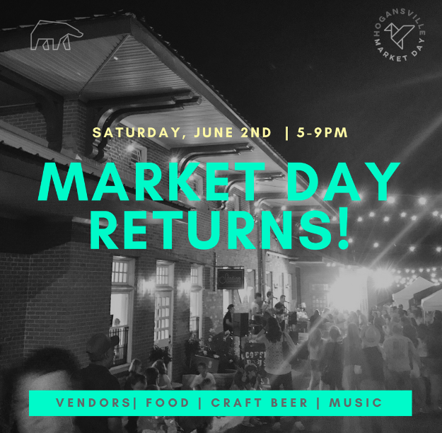 Market day is coming back! - If you want more info shoot us an email at: pioneer.hogansville@gmail.com