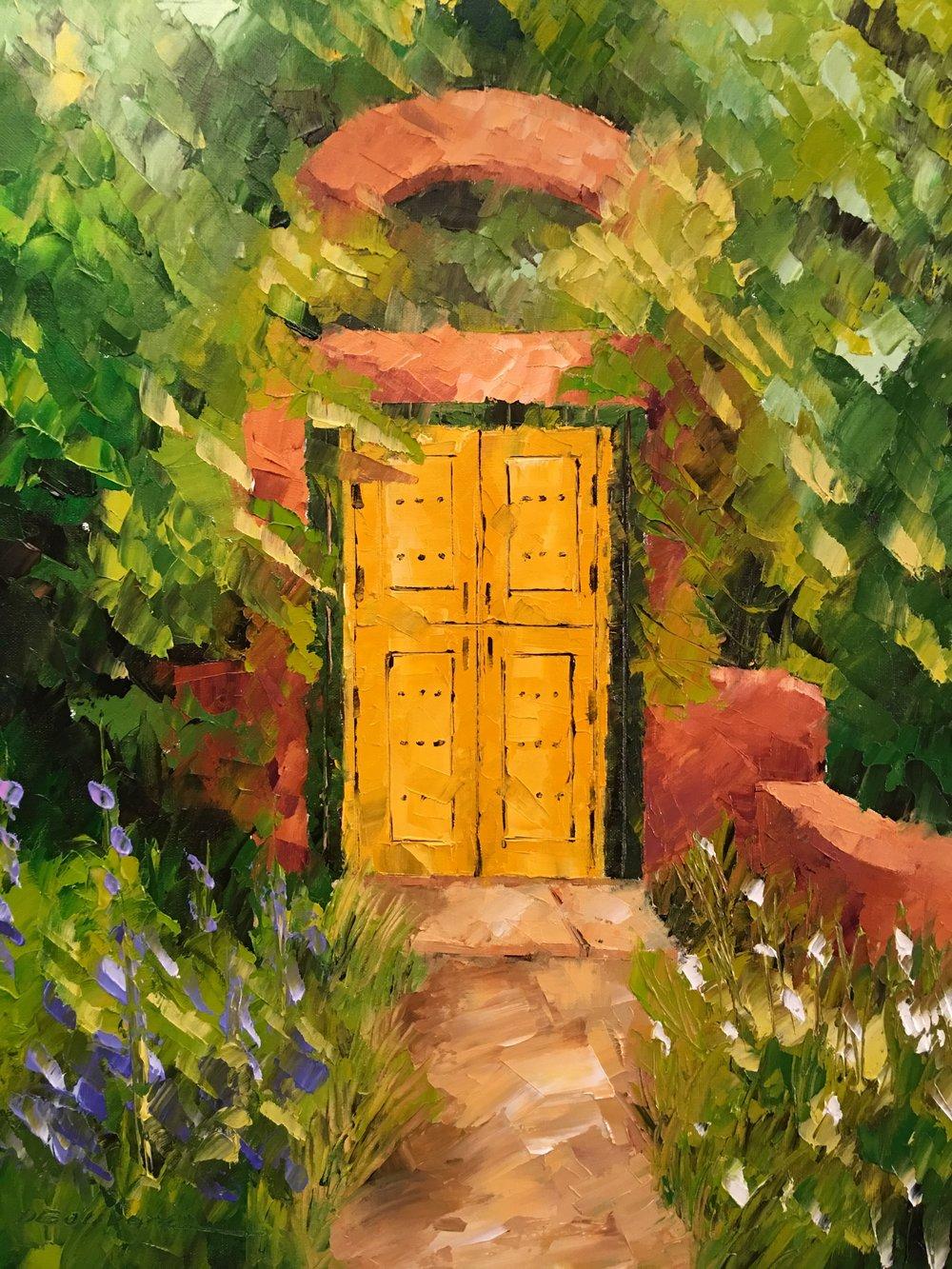 """Puerta Amarillo"""