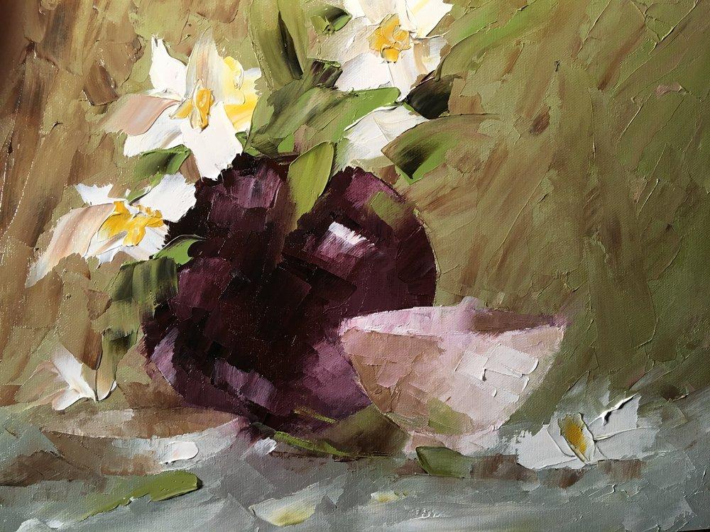 """""""Black Vase Still Life"""""""