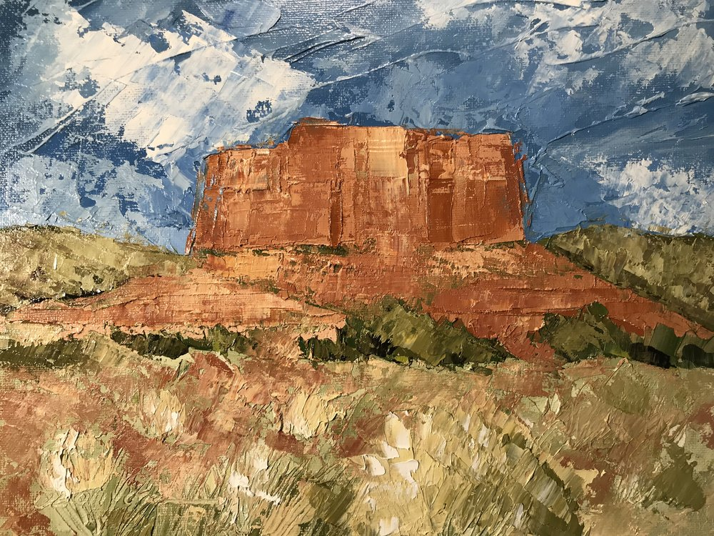 """Kitchen Mesa, Ghost Ranch"""