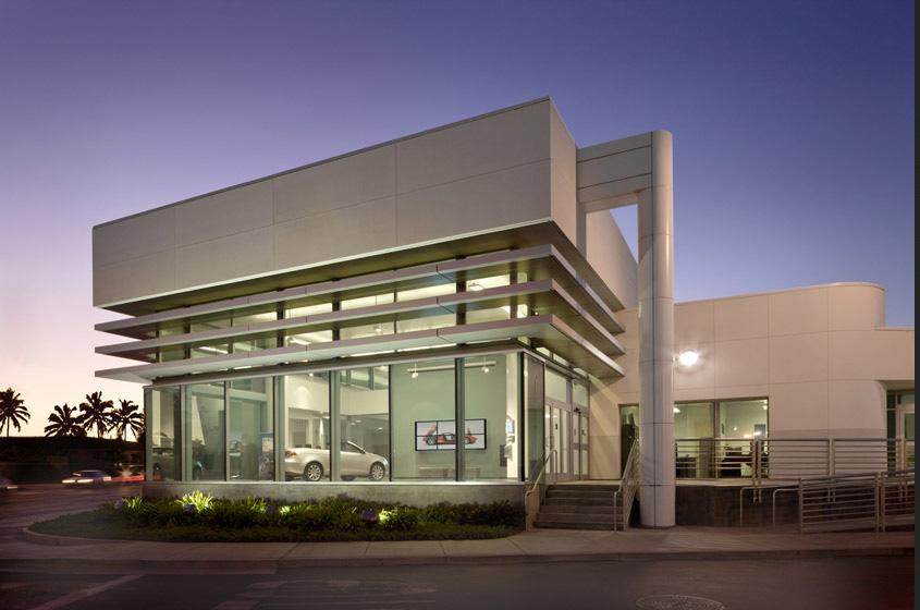 Cerritos College Automotive Technology Building