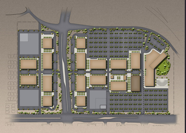 CSN Northwest Campus Master Plan Site Plan
